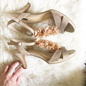 Neutral Ruffle Heels